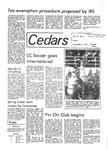 Whispering Cedars, December 8, 1978