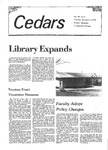 Cedars, November 6, 1979 by Cedarville College