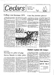 Cedars, April 22, 1980 by Cedarville College