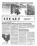 Cedars, October 1, 1981