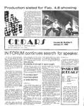 Cedars, January 21, 1982