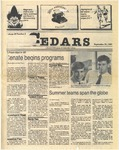 Cedars, September 26, 1985 by Cedarville College