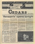 Cedars, November 7, 1985 by Cedarville College