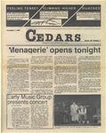Cedars, November 7, 1985