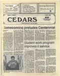 Cedars, October 9, 1986