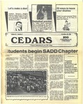 Cedars, November 20, 1986 by Cedarville College