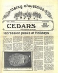 Cedars, December 8, 1986 by Cedarville College