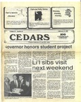 Cedars, February 5, 1987 by Cedarville College