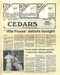 Cedars, February 19, 1987 by Cedarville College