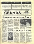 Cedars, April 9, 1987 by Cedarville College