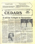 Cedars, May 21, 1987 by Cedarville College