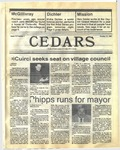 Cedars, October 22, 1987 by Cedarville College