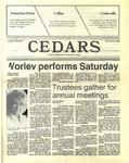 Cedars, November 5, 1987