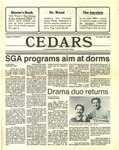 Cedars, November 19, 1987 by Cedarville College