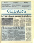 Cedars, January 21, 1988 by Cedarville College