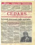 Cedars, February 4, 1988 by Cedarville College
