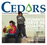 Cedars, March 2018 by Cedarville University