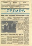 Cedars, April 21, 1988 by Cedarville College