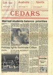 Cedars, December 8, 1988 by Cedarville College