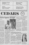 Cedars, November 9, 1989 by Cedarville College