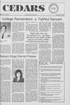 Cedars, January 25, 1990 by Cedarville College