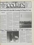Cedars, September 22, 1995 by Cedarville College