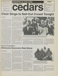 Cedars, September 30, 1994 by Cedarville College
