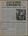 Cedars, October 14, 1994 by Cedarville College