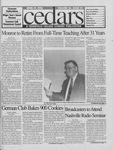 Cedars, April 19, 1996 by Cedarville College