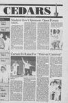 Cedars, November 8, 1990 by Cedarville College