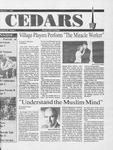 Cedars, February 7, 1991 by Cedarville College