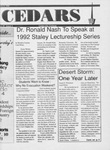 Cedars, January 6, 1992