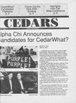 Cedars, October 9, 1992