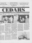Cedars, October 23, 1992