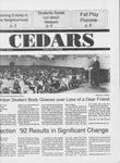 Cedars, November 6, 1992