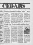 Cedars, April 23, 1993 by Cedarville College