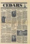 Cedars, September 27, 1990 by Cedarville College