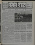 Cedars, October 18, 1996 by Cedarville College