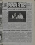 Cedars, November 1, 1996 by Cedarville College