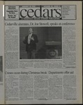Cedars, January 24, 1997 by Cedarville College