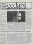 Cedars, October 10, 1997 by Cedarville College
