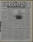 Cedars, March 6, 1998 by Cedarville College