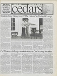 Cedars, April 17, 1998 by Cedarville College