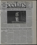Cedars, October 9, 1998 by Cedarville College