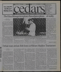 Cedars, November 6, 1998 by Cedarville College