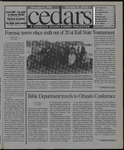 Cedars, December 4, 1998 by Cedarville College