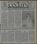 Cedars, January 22, 1999 by Cedarville College