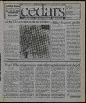 Cedars, March 5, 1999 by Cedarville College
