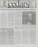 Cedars, October 8, 1999 by Cedarville College