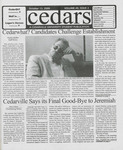 Cedars, October 22, 1999 by Cedarville College